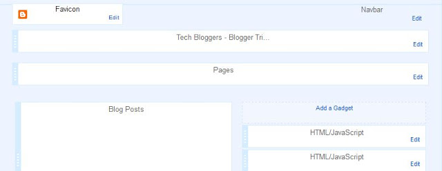 blogger layout